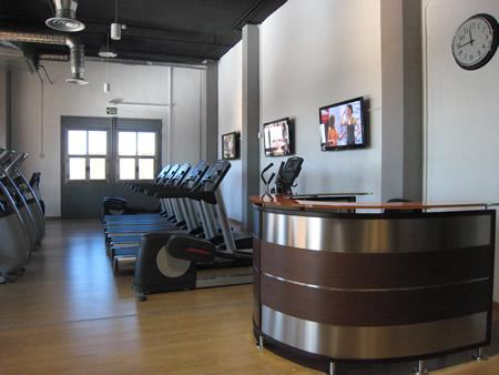 Recepcion centro alto rendimiento deporte - Decoracion de gimnasios ...
