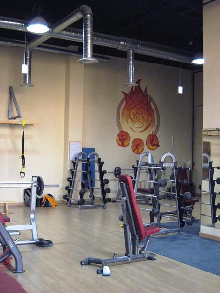 Sala de bomberos pruebas oposiciones preparacion for Gimnasio villaviciosa de odon